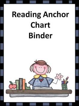 Reading Anchor Chart Binder