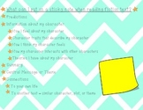 Reading Anchor Chart - Fiction Sticky Note Responses