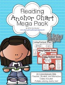 Reading Anchor Chart Mega Pack