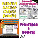 Reading Anchor Charts Bundle: Printable and Digital