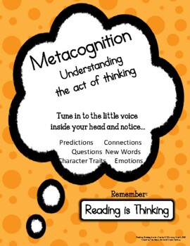 Reading Anchor Charts - Metacognition