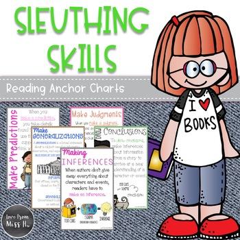 Reading Anchor Charts: Sleuthing Skills