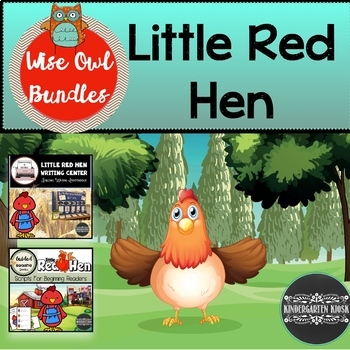 Reading And Writing Activities Little Red Hen Bundle
