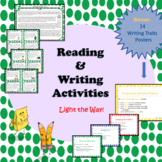 Reading And Writing Activities with 6 Traits Posters (Ligh