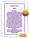 Reading Anticipation Guide FREEBIE!