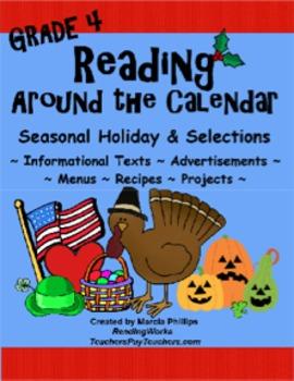 Reading Around The Calendar - Grade 4