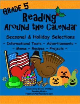 Reading Around The Calendar - Grade 5