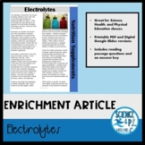 Reading Article: Electrolytes (Google Slides and PDF)