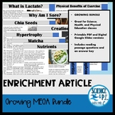 Reading Articles: MEGA Growing Bundle