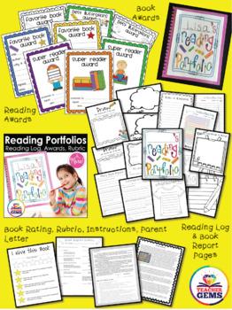 Reading Bundle - Reading Fluency & Goal Setting + Portfolios