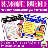 Reading Bundle - Reading Fluency & Goal Setting + Portfolios