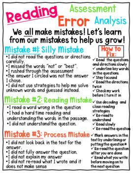 Reading Assessment Error Analysis