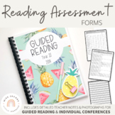 Reading Assessment Forms {Guided Reading & Conference Folder}