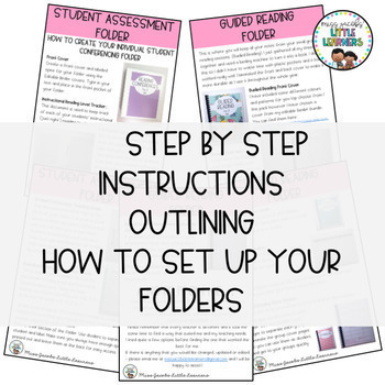 Guided Reading Folder - Reading Assessment Forms