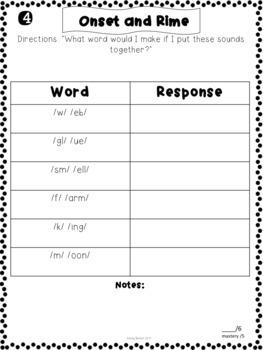 Reading Assessment Kit