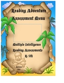 Reading Assessment Menu