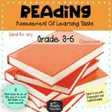 Reading Assessment OF Learning Tasks