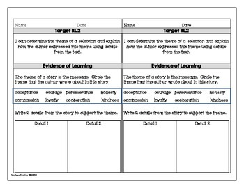 Reading Assessment Questions Pack- Common Core Standards Grade 4