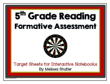 Reading Assessment Questions Pack- Common Core Standards Grade 5