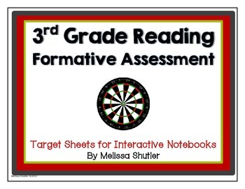 Reading Assessment Questions Pack- Common Core standards Grade 3
