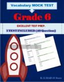 Reading Assessment Test Grade 6 - Mock