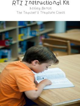 Reading Assessment and Instruction Kit BUNDLE