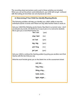 Reading Assessment for Beginning Readers