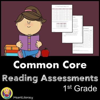 1st Grade Reading Comprehension Passages - Common Core Aligned