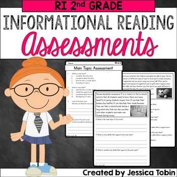 Reading Assessments 2nd Grade RI