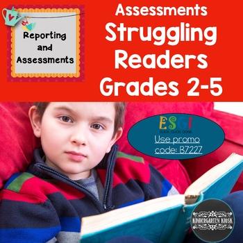 Reading Assessments For Struggling Readers