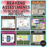Reading Assessments for Any Novel: Perfect for Reading Wor