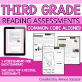 Reading Assessments for Third Grade (PDF & Digital) / Dist