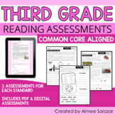 Reading Assessments for Third Grade (PDF & Digital) / Dist