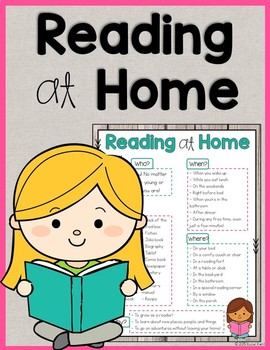 Reading At Home - Free Handout