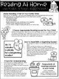 Tips For Parents - Reading At Home