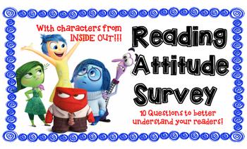 Reading Attitude Survey INSIDE OUT theme