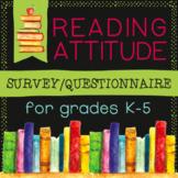 Reading Attitude Survey/Questionnaire