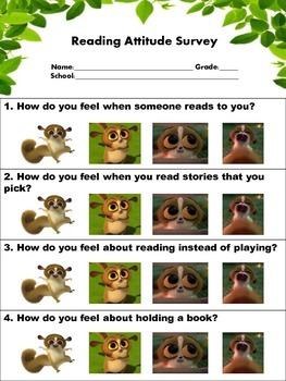 Reading Attitude and Motivation Survey