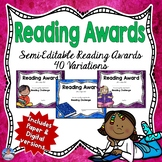 Reading Certificates | Reading Awards | Digital and Paper