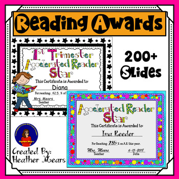 Reading award certificates editable teaching resources teachers reading awards bundle reading awards bundle yadclub Image collections