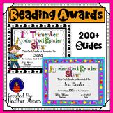 Reading Awards Bundle