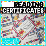 Reading Awards Certificates