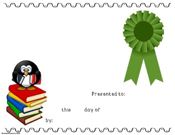 Reading Awards - 10 Editable certificates for Reading Fair or Accelerated Reader