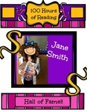 Reading Awards--Hall of Fame