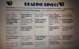Reading BINGO Activity Sheet