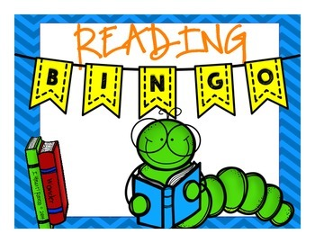 Reading BINGO Board