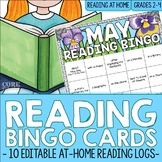 Reading BINGO Nightly Reading Logs