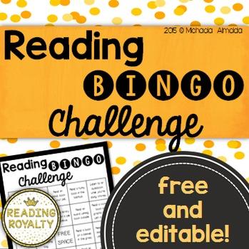 Reading BINGO: Free Reading Challenge!