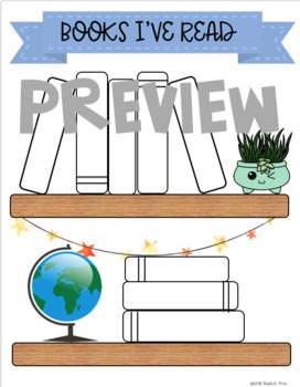 Reading BULLET JOURNAL for Students - Fun for Reading Tracking & Goal Setting!