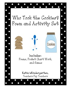 "Reading/ Back to School:  ""Who Took the Cookies From the C"